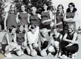 Handballjenter på Tangen