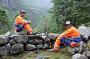 Steinarbeid i Avdalen