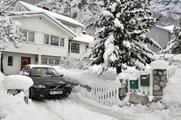 Snøvinter i Årdal