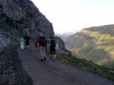 Historisk vandring i fjell...