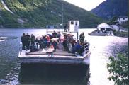 Transport av turfolk med l...