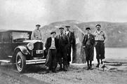 Ved høgdestøtta ca 1950