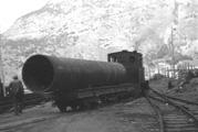 Transport av turbinrøyr